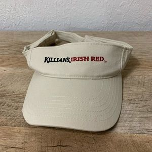 Tan Killians Irish Red Visor